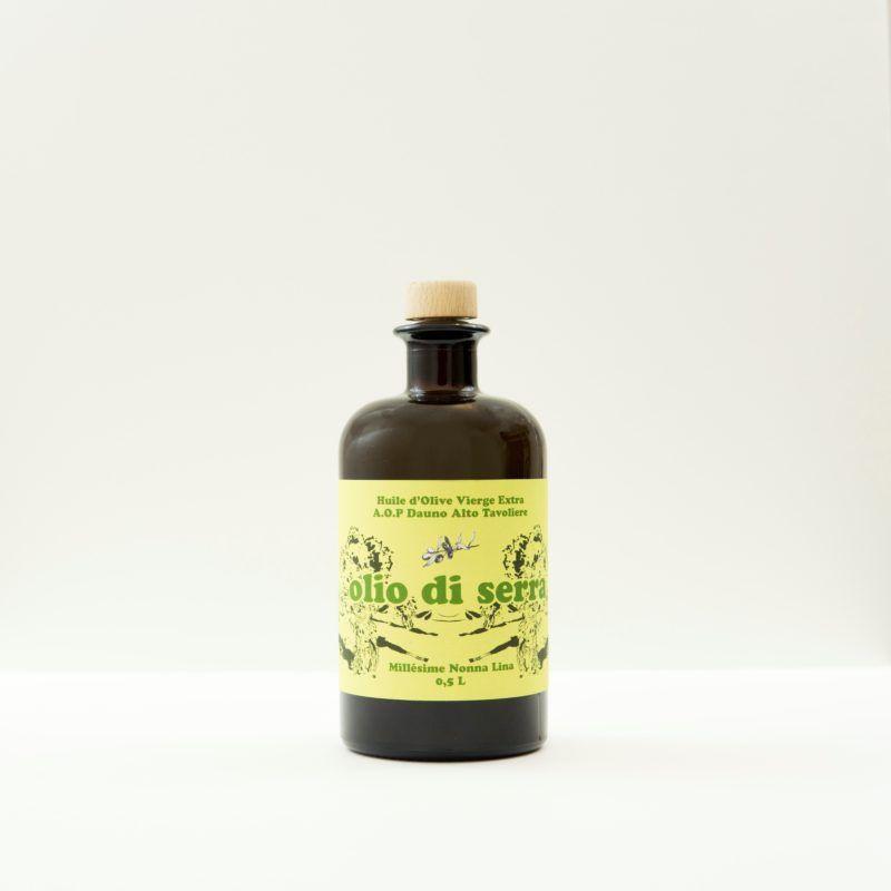 Bottiglia Olio di Serra Olives Huile