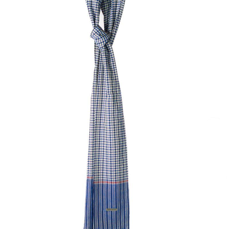 foulard-karma-heritage-bleu-roi