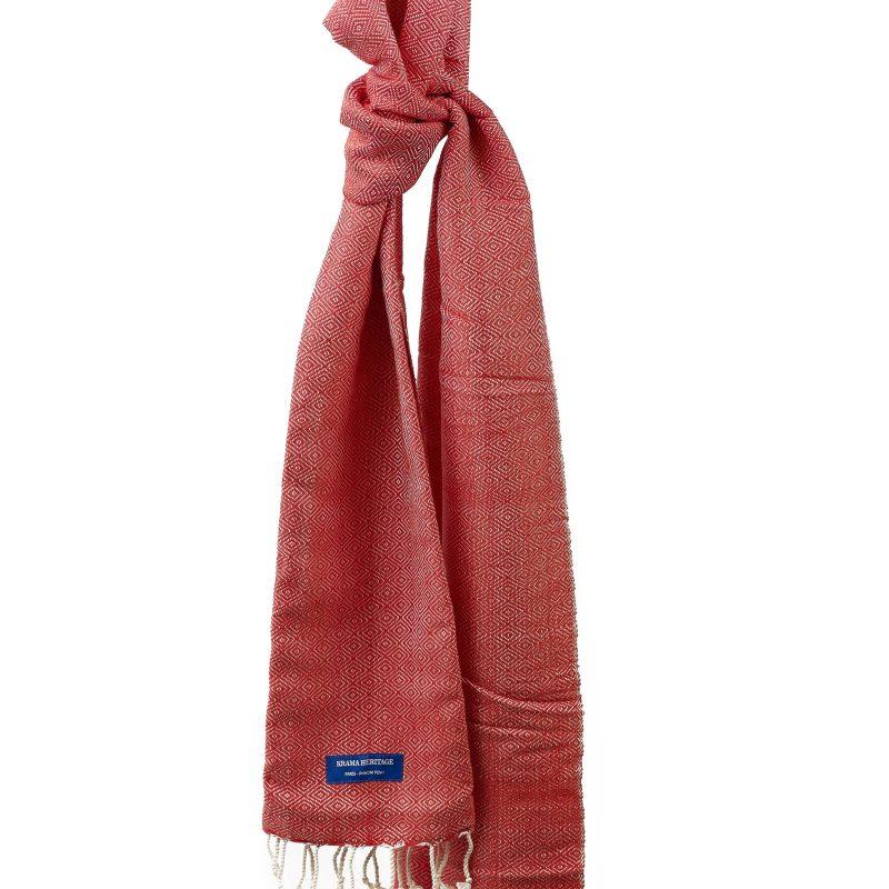foulard karma chaud rouge