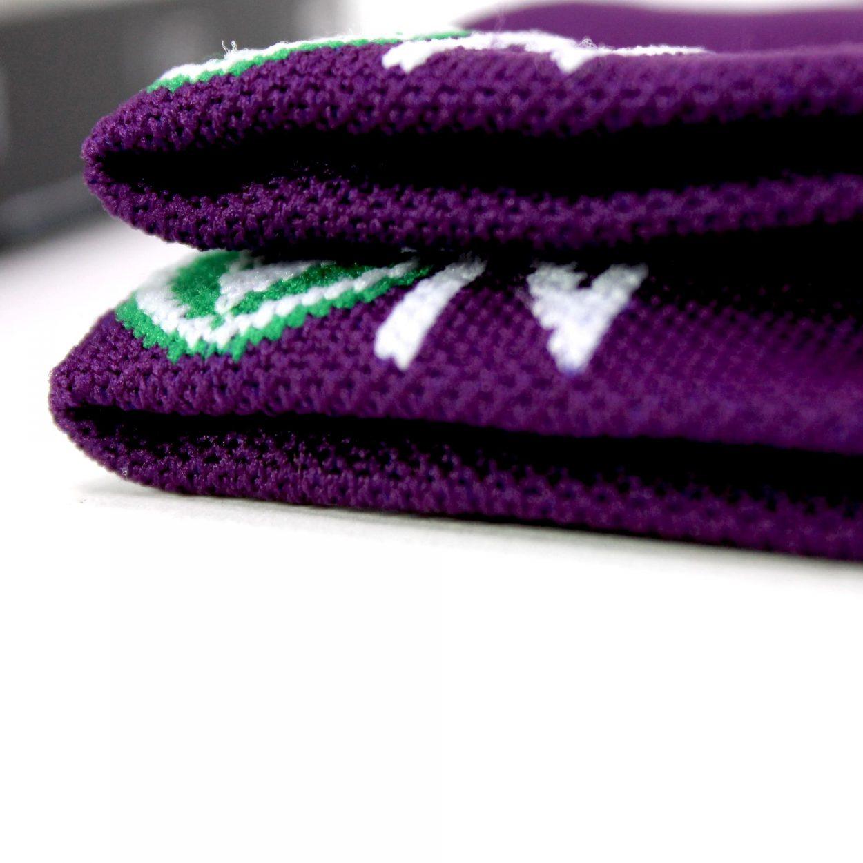 chaussette, sport, violet