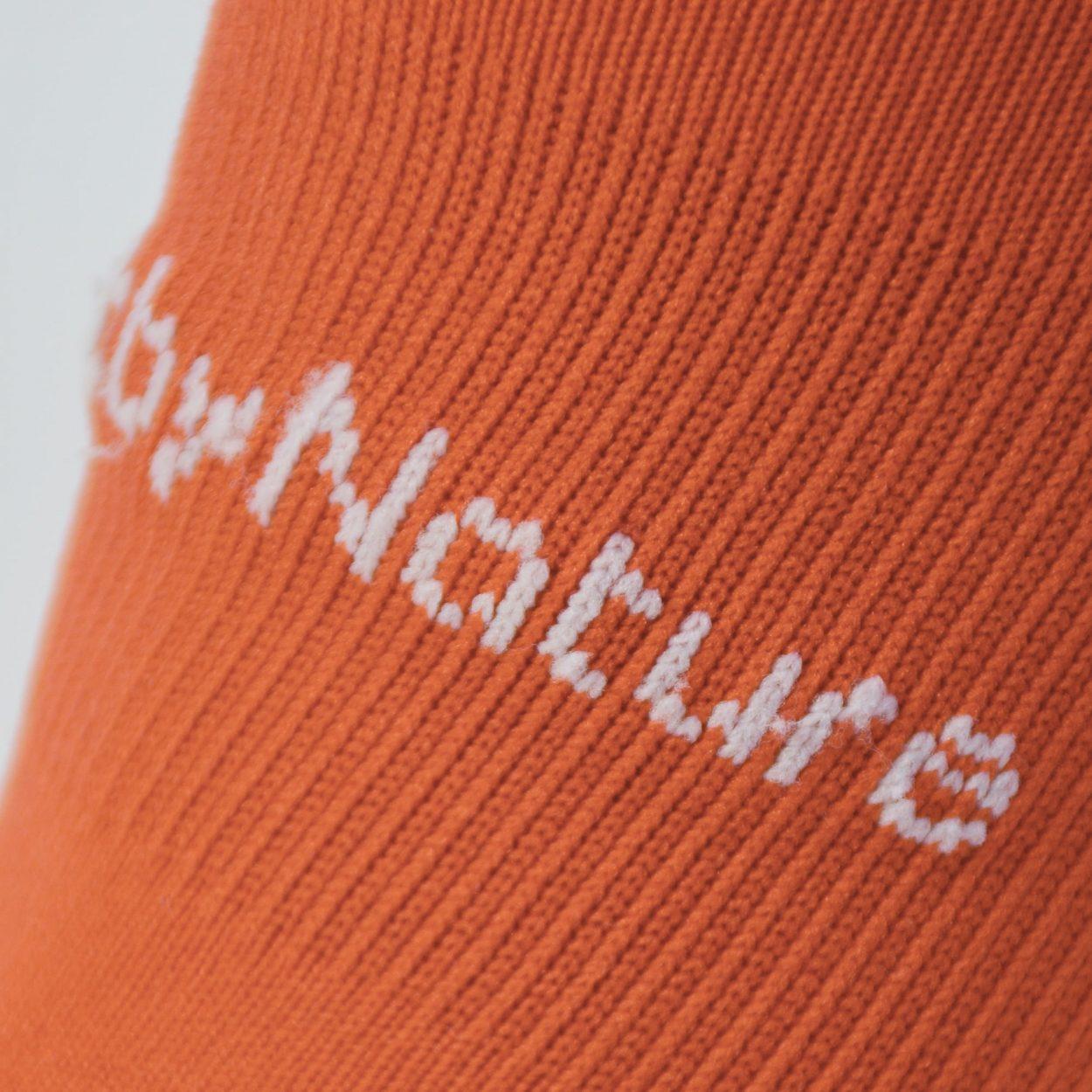 chaussette, sport, orange
